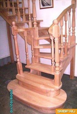 Деревянные лестницы, расчёт, изготовление, монтаж