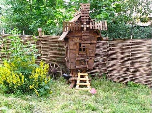 Обустройство территории деревянная