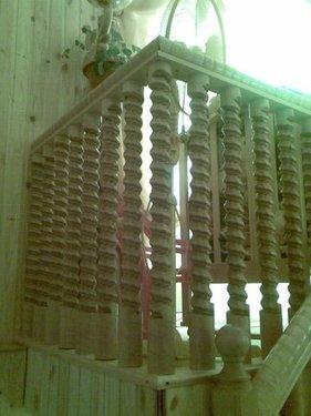Резные балясины, опорные столбы и поручни лестниц