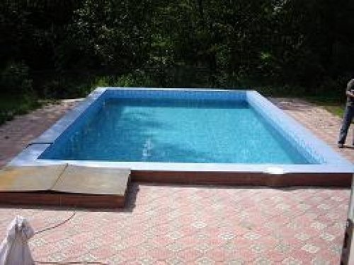 Отделка бассейнов натуральным камнем