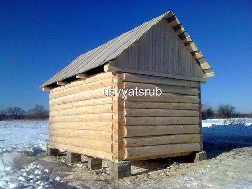 Срубы строительство баня 3х4 17643