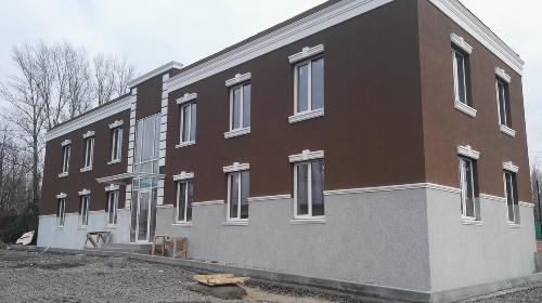 Каркасный дом отделка фасада штукатуркой