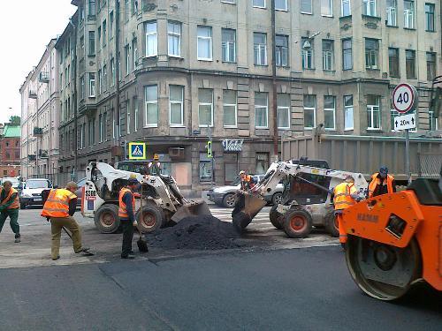 Асфальтирование и благоустройство территорий СПб