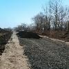 Асфальтирование, строительство дорог, укладка крошки, Фосфоритный